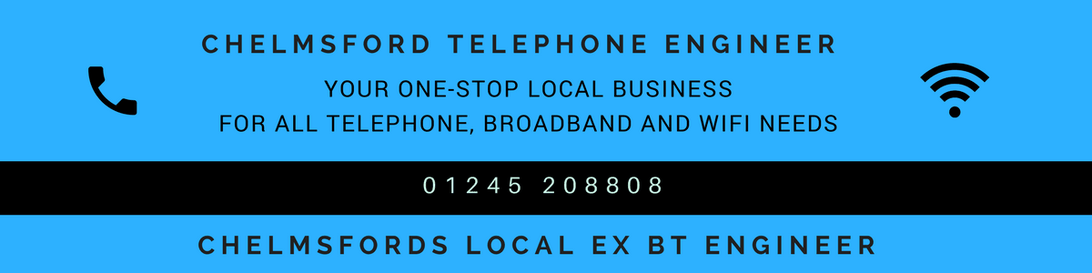 Local Chelmsford telephone engineer repairs comms network