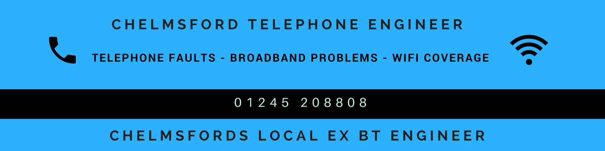 Local Chelmsford telephone engineer